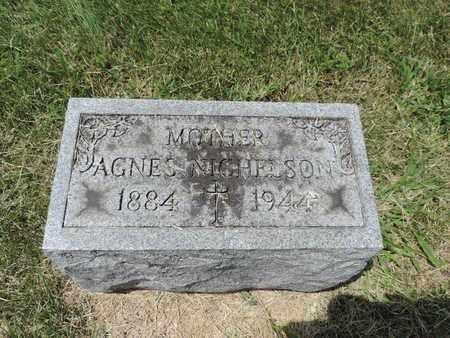 NICHELSON, AGNES - Franklin County, Ohio | AGNES NICHELSON - Ohio Gravestone Photos