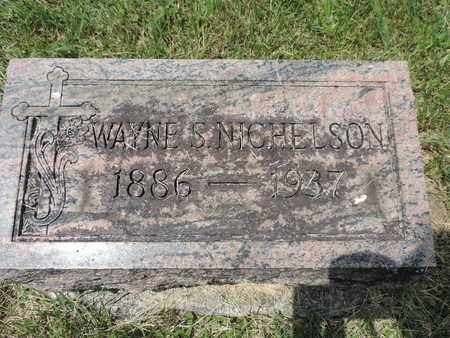 NICHELSON, WAYNE - Franklin County, Ohio | WAYNE NICHELSON - Ohio Gravestone Photos