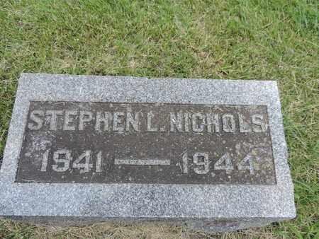 NICHOLS, STEPHEN L - Franklin County, Ohio | STEPHEN L NICHOLS - Ohio Gravestone Photos