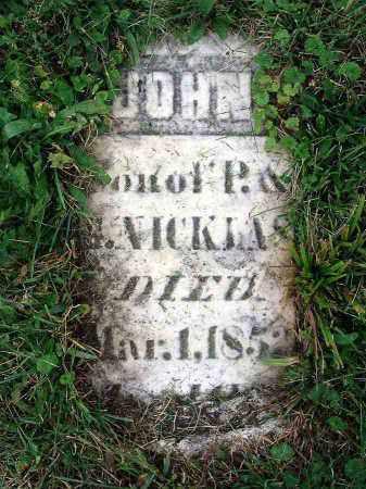 NICKLAS, JOHN - Franklin County, Ohio | JOHN NICKLAS - Ohio Gravestone Photos
