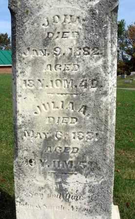 NICODEMUS, JULIA A. - Franklin County, Ohio | JULIA A. NICODEMUS - Ohio Gravestone Photos