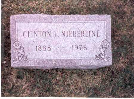 NIEBERLINE, CLINTON L. - Franklin County, Ohio | CLINTON L. NIEBERLINE - Ohio Gravestone Photos