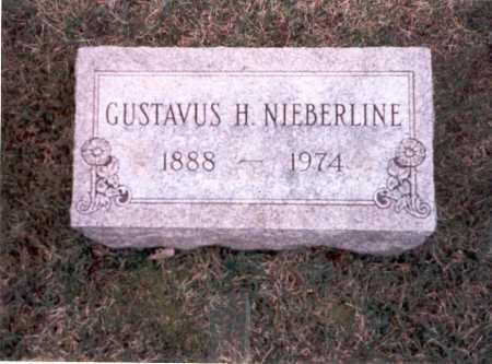 NIEBERLINE, GUSTAVUS H. - Franklin County, Ohio | GUSTAVUS H. NIEBERLINE - Ohio Gravestone Photos