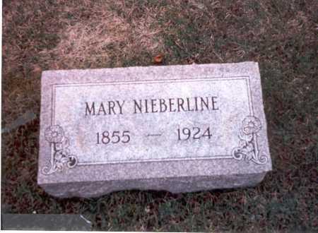 BOESHANSZ NIEBERLINE, MARY - Franklin County, Ohio   MARY BOESHANSZ NIEBERLINE - Ohio Gravestone Photos