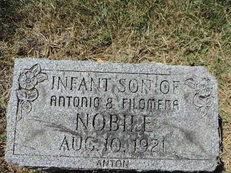 NOBILE, ANTON - Franklin County, Ohio | ANTON NOBILE - Ohio Gravestone Photos