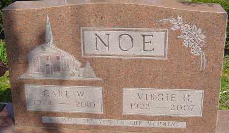 NOE, VIRGIE G - Franklin County, Ohio | VIRGIE G NOE - Ohio Gravestone Photos