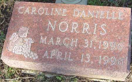 NORRIS, CAROLINE DANIELLE - Franklin County, Ohio | CAROLINE DANIELLE NORRIS - Ohio Gravestone Photos