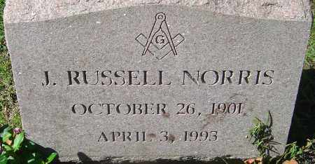 NORRIS, J. RUSSELL - Franklin County, Ohio | J. RUSSELL NORRIS - Ohio Gravestone Photos