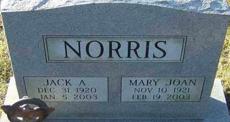 NORRIS, JACK A - Franklin County, Ohio   JACK A NORRIS - Ohio Gravestone Photos