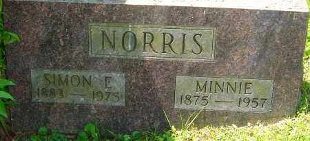 NORRIS, SIMON E - Franklin County, Ohio | SIMON E NORRIS - Ohio Gravestone Photos