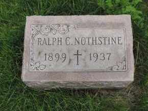 NOTHSTINE, RALPH C. - Franklin County, Ohio | RALPH C. NOTHSTINE - Ohio Gravestone Photos