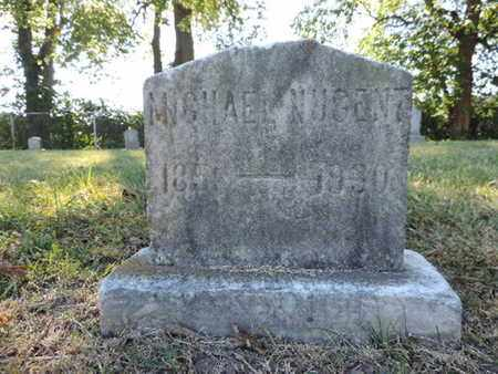 NUGENT, MICHAEL - Franklin County, Ohio   MICHAEL NUGENT - Ohio Gravestone Photos