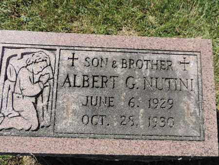 NUTINI, ALBERT G. - Franklin County, Ohio | ALBERT G. NUTINI - Ohio Gravestone Photos