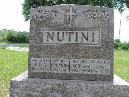 NUTINI, EVA - Franklin County, Ohio | EVA NUTINI - Ohio Gravestone Photos