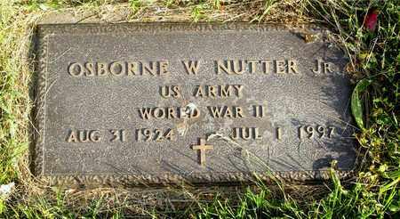 NUTTER, OSBORNE W. - Franklin County, Ohio | OSBORNE W. NUTTER - Ohio Gravestone Photos