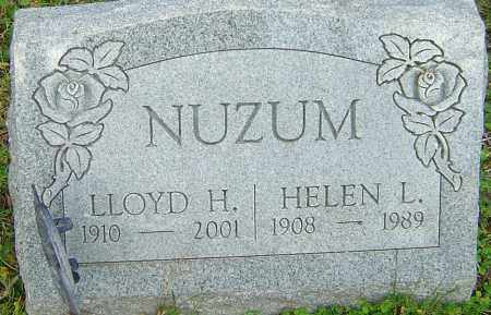 NUZUM, HELEN - Franklin County, Ohio | HELEN NUZUM - Ohio Gravestone Photos
