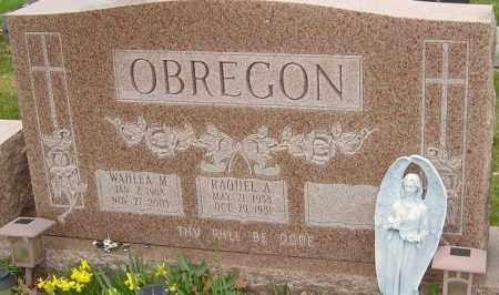 OBREGON, RAQUEL A - Franklin County, Ohio | RAQUEL A OBREGON - Ohio Gravestone Photos