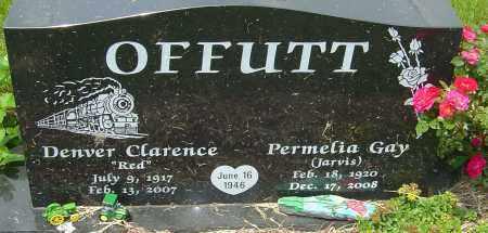 OFFUTT, DENVER CLARENCE - Franklin County, Ohio   DENVER CLARENCE OFFUTT - Ohio Gravestone Photos