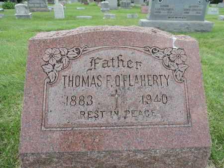 O'FLAHERTY, THOMAS F. - Franklin County, Ohio | THOMAS F. O'FLAHERTY - Ohio Gravestone Photos