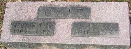 OGLE, NADINE D - Franklin County, Ohio | NADINE D OGLE - Ohio Gravestone Photos