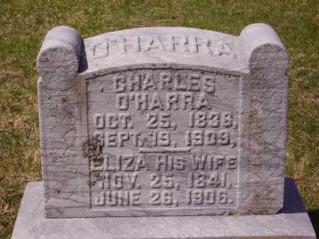 O'HARRA, ELIZA - Franklin County, Ohio | ELIZA O'HARRA - Ohio Gravestone Photos