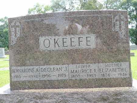 O'KEEFE, BERNARDINE A. - Franklin County, Ohio | BERNARDINE A. O'KEEFE - Ohio Gravestone Photos