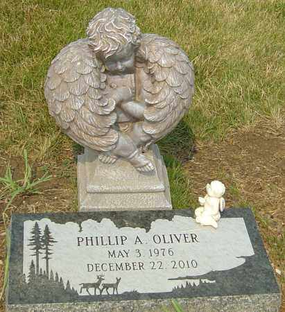 OLIVER, PHILLIP A - Franklin County, Ohio   PHILLIP A OLIVER - Ohio Gravestone Photos