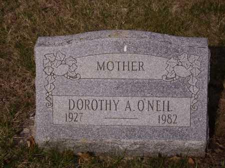 O'NEIL, DOROTHY A. - Franklin County, Ohio   DOROTHY A. O'NEIL - Ohio Gravestone Photos