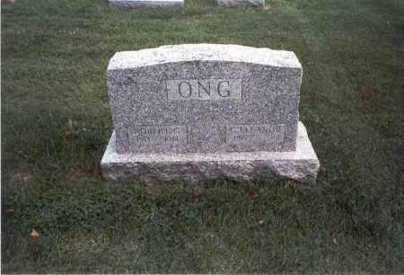 ONG, ROBERT G. - Franklin County, Ohio | ROBERT G. ONG - Ohio Gravestone Photos