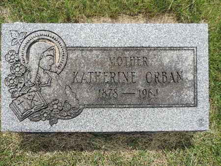 ORBAN, KATHERINE - Franklin County, Ohio   KATHERINE ORBAN - Ohio Gravestone Photos