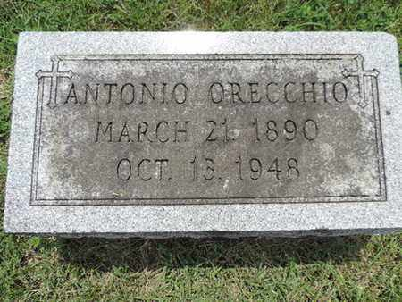 ORECCHIO, ANTONIO - Franklin County, Ohio | ANTONIO ORECCHIO - Ohio Gravestone Photos