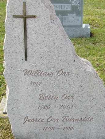 ORR, BETTY - Franklin County, Ohio | BETTY ORR - Ohio Gravestone Photos