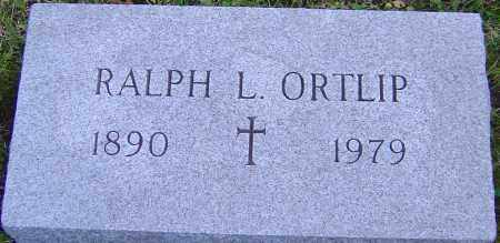 ORTLIP, RALPH - Franklin County, Ohio | RALPH ORTLIP - Ohio Gravestone Photos