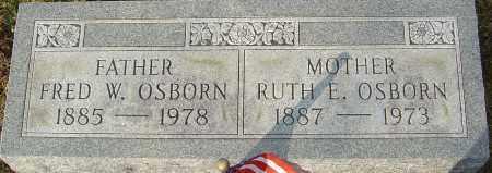 OSBORN, FRED W - Franklin County, Ohio | FRED W OSBORN - Ohio Gravestone Photos