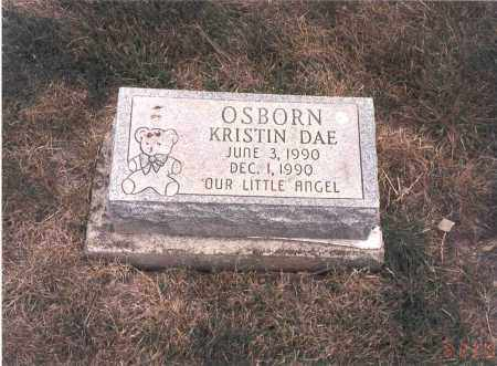 OSBORN, KRISTIN DAE - Franklin County, Ohio | KRISTIN DAE OSBORN - Ohio Gravestone Photos