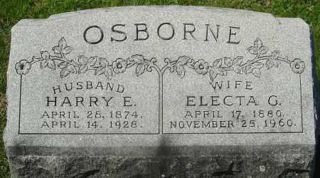 OSBORNE, HARRY E - Franklin County, Ohio   HARRY E OSBORNE - Ohio Gravestone Photos