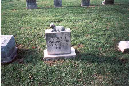 OSBORNE, JR., HAROLD D. - Franklin County, Ohio | HAROLD D. OSBORNE, JR. - Ohio Gravestone Photos