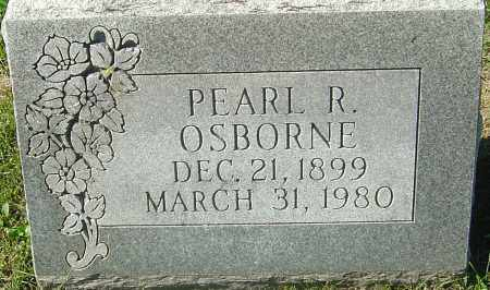 OSBORNE, PEARL R - Franklin County, Ohio | PEARL R OSBORNE - Ohio Gravestone Photos