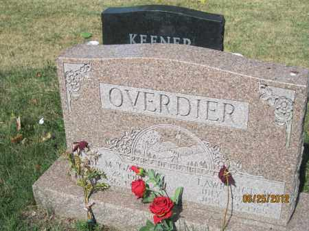 OVERDIER, LAWRENCE WELLING - Franklin County, Ohio | LAWRENCE WELLING OVERDIER - Ohio Gravestone Photos