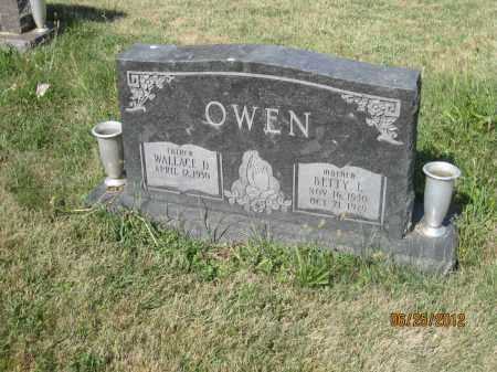 OWEN, BETTY L - Franklin County, Ohio | BETTY L OWEN - Ohio Gravestone Photos