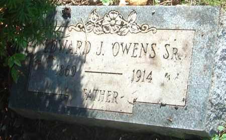 OWENS, EDWARD JOSEPH - Franklin County, Ohio | EDWARD JOSEPH OWENS - Ohio Gravestone Photos