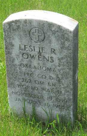 OWENS, LESLIE R. - Franklin County, Ohio | LESLIE R. OWENS - Ohio Gravestone Photos