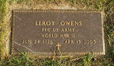 OWENS, LEROY - Franklin County, Ohio   LEROY OWENS - Ohio Gravestone Photos