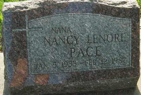 PACE, NANCY - Franklin County, Ohio | NANCY PACE - Ohio Gravestone Photos