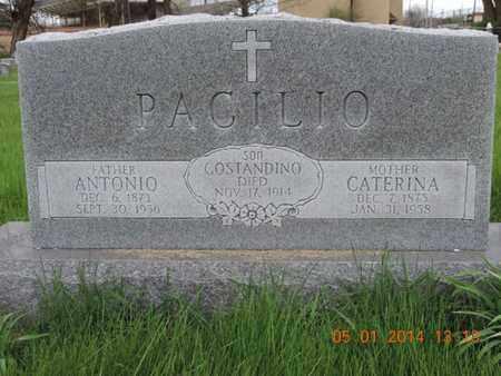 PACILIO, CATERINA - Franklin County, Ohio | CATERINA PACILIO - Ohio Gravestone Photos