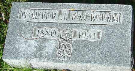 PACKHAM, WALTER JOHN - Franklin County, Ohio | WALTER JOHN PACKHAM - Ohio Gravestone Photos