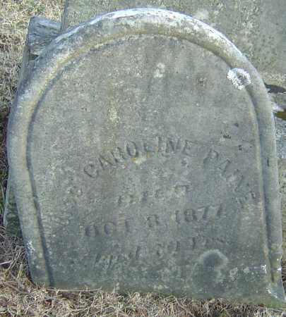 PAINE, CAROLINE - Franklin County, Ohio   CAROLINE PAINE - Ohio Gravestone Photos