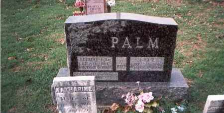 PALM, SR., HERBERT F. - Franklin County, Ohio | HERBERT F. PALM, SR. - Ohio Gravestone Photos