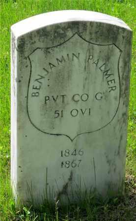 PALMER, BENJAMIN - Franklin County, Ohio   BENJAMIN PALMER - Ohio Gravestone Photos