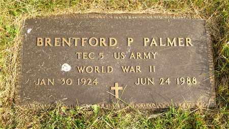 PALMER, BRENTFORD P. - Franklin County, Ohio   BRENTFORD P. PALMER - Ohio Gravestone Photos